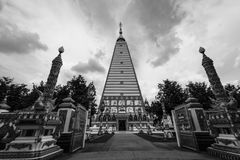 Temple Thailand in Ubonratchatani. Wat Pratat Nongbou ,Beautiful temple in Ubonratchatani ,Thailand Travel Royalty Free Stock Photos