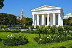Temple of Theseus in Vienna Volksgarten, Austria Royalty Free Stock Image