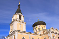 Temple of the Three Saints in Simferopol city Royalty Free Stock Photography
