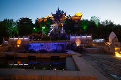 Temple tibétain Images stock