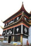 Temple tibétain de Langmu de la Chine Image libre de droits