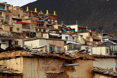 Temple in Tibet Royalty Free Stock Image