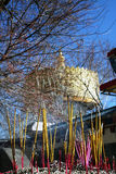 Temple of Tibet style in Shangrila, China Royalty Free Stock Photography