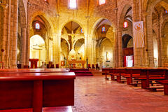 Temple Tibidabo. Royalty Free Stock Images
