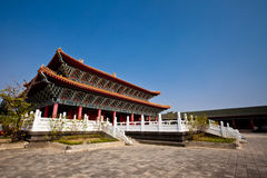 Temple to Confucius Stock Photo