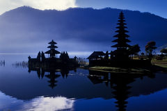 Temple to the water goddess. Indonesia. The temple to the water goddess is located in the Bali island. Indonesia Stock Photo