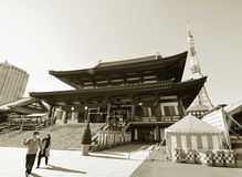 Temple in Tokyo Royalty Free Stock Images