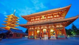 Temple Tokyo de Sensoji Asakusa Photographie stock libre de droits