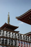 Temple - Tokyo Japan Stock Photography