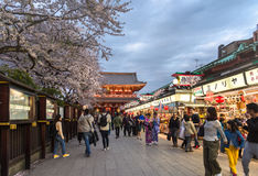 Temple in TOKYO, Japan for Editorial use only Royalty Free Stock Image