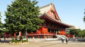 Temple Tokyo Japon de Sensoji clips vidéos