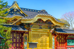 Temple in Tokyo Royalty Free Stock Photography