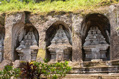 Temple-tomb of imperial family. Gunung-Kavi Royalty Free Stock Photos