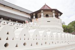 Temple of tooth of buddha, candy, sri lanka Royalty Free Stock Images