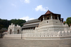 Temple of the tooth of Buddha, Kandy, SriLanka Royalty Free Stock Photos