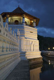 Temple of the Tooth. Evening. Sri Lanka Stock Photo