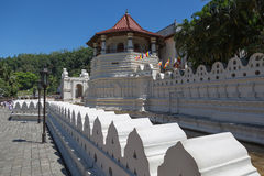 Temple of the Tooth, Kandy, Sri Royalty Free Stock Image