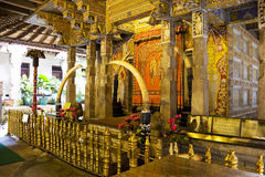 Temple of Tooth, Kandy, Sri Lanka stock photos