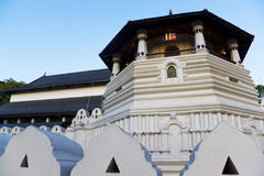 Temple of Tooth, Kandy, Sri Lanka. Image of the Temple of Tooth at Kandy, Sri Lanka. This is a UNESCO's World Heritage site. The Temple of the Tooth is the world Stock Photo