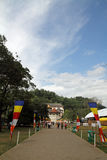 Temple of the tooth in Kandy Royalty Free Stock Photography