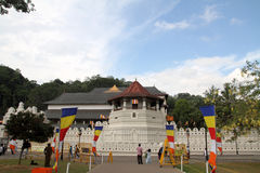 Temple of the tooth in Kandy Stock Photography
