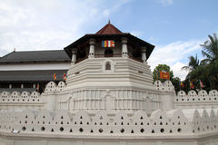 Temple of the tooth in Kandy Stock Photo