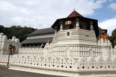 Temple of the tooth in Kandy Royalty Free Stock Image
