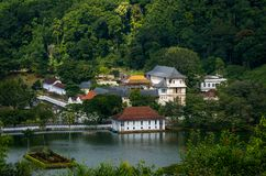 Temple of the Tooth, Kandy, Sri Lanka Royalty Free Stock Image