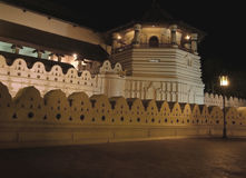 Temple of the Tooth by night Royalty Free Stock Photo