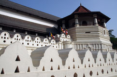 Temple of the Tooth Relic, Kandy, Sri Lanka Stock Photography
