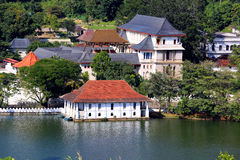 Temple of Tooth Relic in Kandy, Sri Lanka Royalty Free Stock Photos
