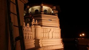 Temple of tooth relic Sri Lanka Stock Photos