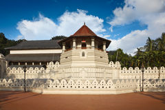 Temple of the Tooth. Sri Lanka Stock Images