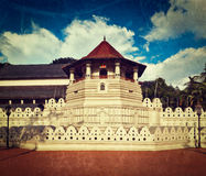 Temple of the Tooth. Sri Lanka Stock Photography