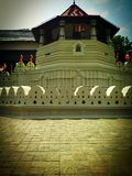 Temple of tooth, srilanka, kandy royalty free stock photography
