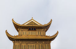 Temple on top of Emei mountain Royalty Free Stock Image