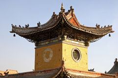 Temple tower. Temple museum of the Choijin Lama Ulaan-Baatar Mongolia Royalty Free Stock Image