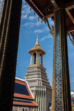 Temple Tower in Phra Borom Maha Ratchawang Royalty Free Stock Photography