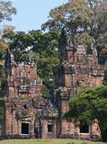 Temple towers at North Kleang, Cambodia Royalty Free Stock Image