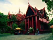 Temple. A Traditional building Royalty Free Stock Photos