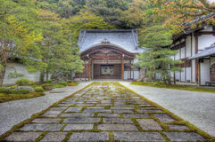 temple traditionnel Images libres de droits