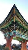 Temple traditionnel coréen photo stock