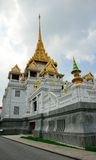 Temple Traimit in Bangkok Royalty Free Stock Photo