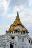 Temple Traimit in Bangkok Stock Image