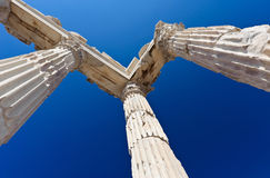 Temple of Trajan Stock Images