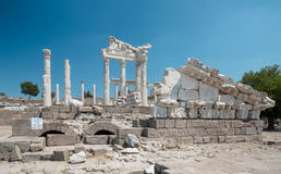 Temple of Trajan Stock Photo
