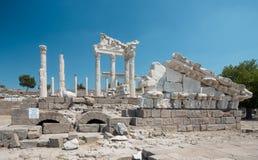Temple of Trajan Stock Photo