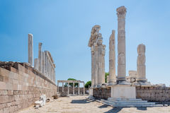 Temple of Trajan Stock Photos