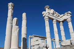 The Temple of Trajan on the Acropolis of Pergamon, Royalty Free Stock Photography