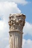 Temple of Trajan at Acropolis of Pergamon. Stock Photo
